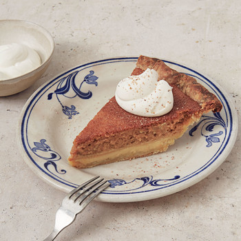 deep dish pumpkin custard pie
