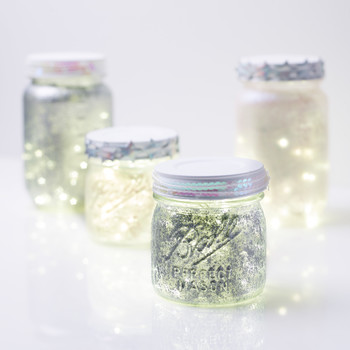iridescent twinkle lights