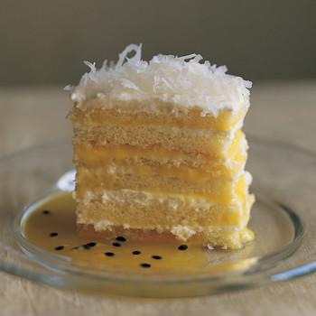 Passion-Fruit Icebox Cake