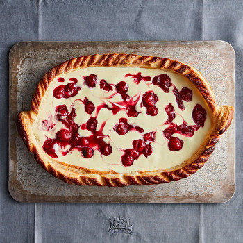 cherry cheese strudel pie
