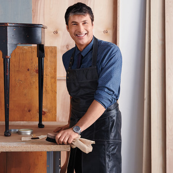 The Makeover Master: Christophe Pourny's Tips on Reviving Wood Furniture