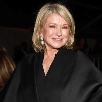 Martha Stewart at the 77th Golden Globes