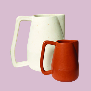 "Bloomist ""Novah"" Ceramic Pitchers"