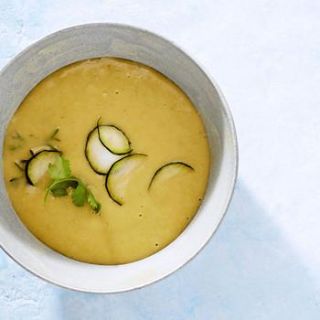 thai zucchini coconut soup