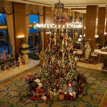Christmas tree at Biltmore Estate