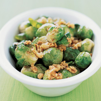 Brussels Sprouts and Hazelnuts