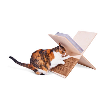 cat scratcher magazine rack