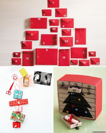Traditional Advent Calendar How-To