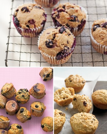 Blueberry Health Muffins