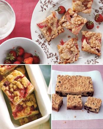 Sour Cherry Crumb Cakes