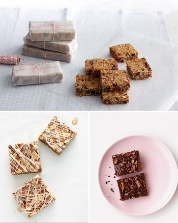 Whole-Wheat Bars with Raspberry Jam