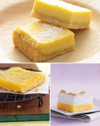 Brown-Butter Shortbread Lemon Bars