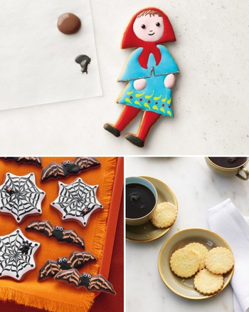 Stenciled Gingerbread Cookies
