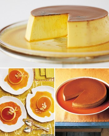 Pumpkin Flan in a Pastry Shell