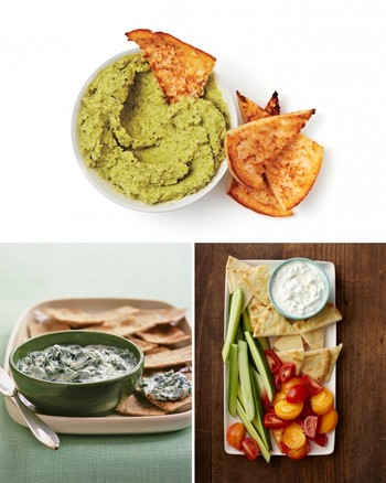Cauliflower-Spinach Dip