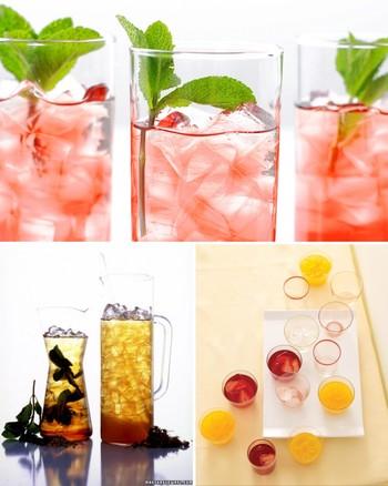 Strawberry-Basil Iced Tea