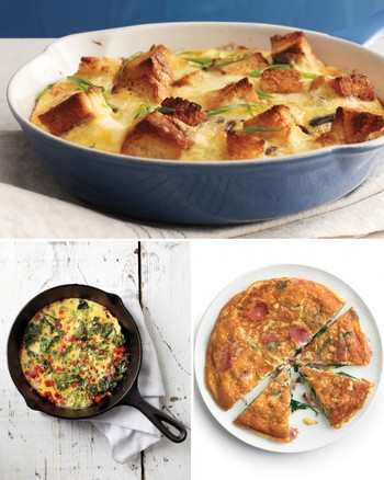 Baked Leek, Potato, and Parmesan Frittata