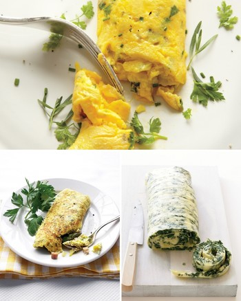 Spinach and Herb Omelet