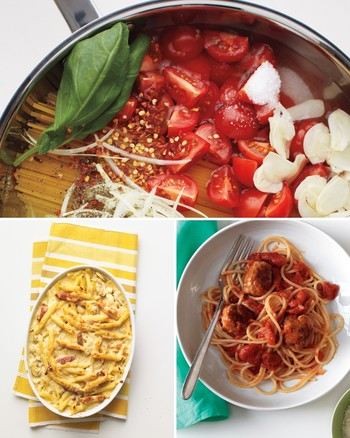 Pasta and noodle dishes