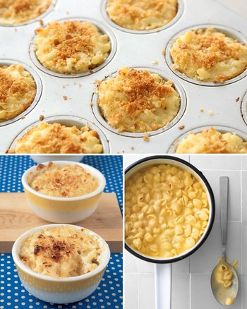 No-Bake Macaroni and Cheese