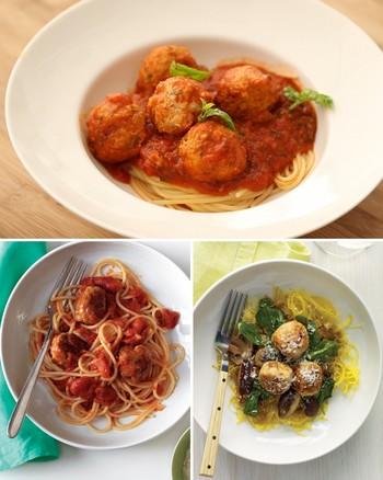 Video: 20-Minute Spaghetti and Meatballs   Martha Stewart
