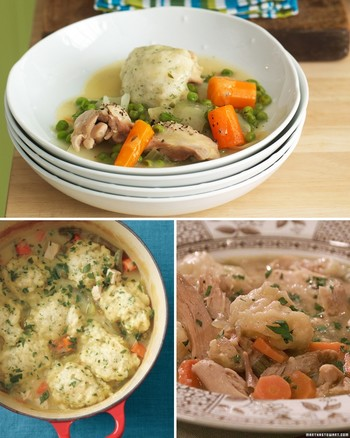 Home-Style Chicken and Dumplings