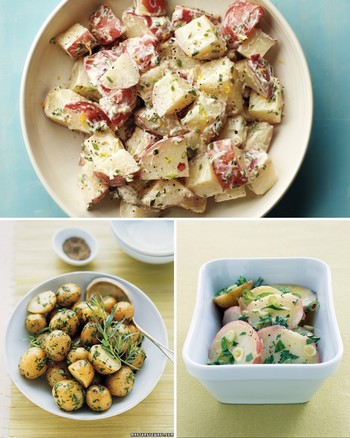 Rutabaga and Potato Salad