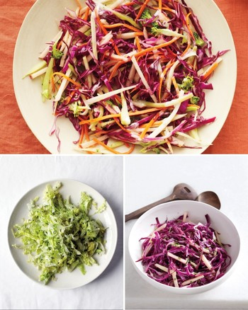 Double Cabbage Slaw