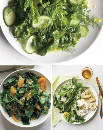 Bibb and Parsley Salad with Anchovy Dressing