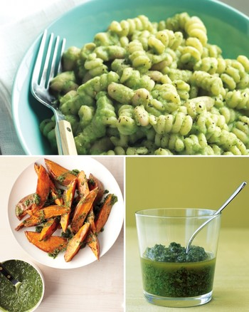 Mint and Parsley Pesto