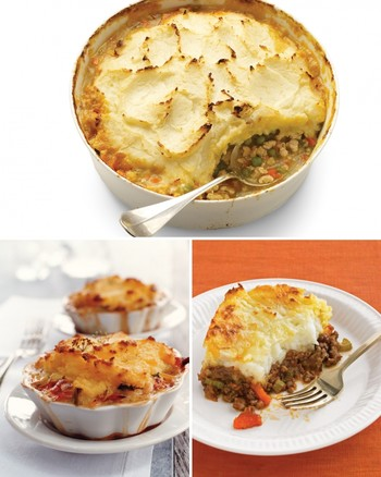 Cheddar-Topped Shepherd's Pie