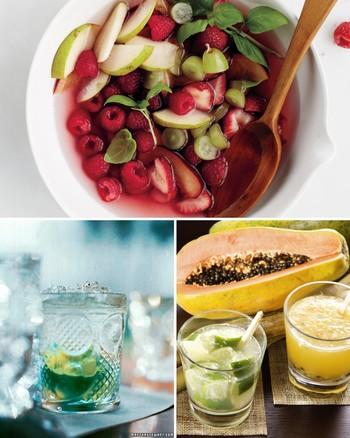 Classic Caipirinha Cocktails