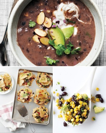 Black Bean Salsa with Tortilla Chips