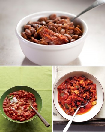 Slow-Cooked Tex-Mex Chicken and Beans