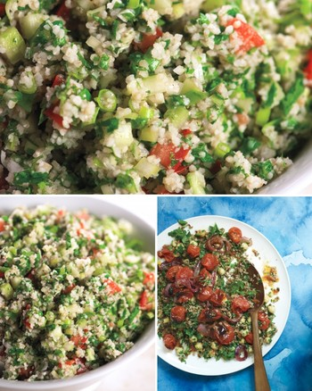 Pomegranate-Bulgur Salad