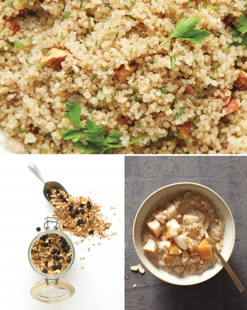Kashi, Mint, and Almond Salad