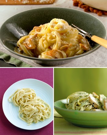 3-Ingredient Fettuccine Alfredo