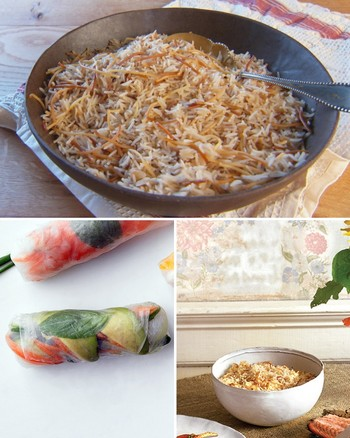 Pasta Party with Vermicelli and Citrus Cream