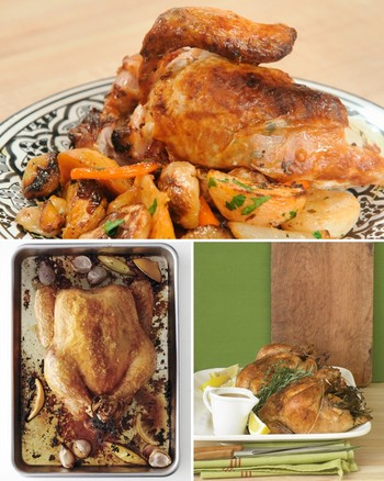 Simple Roast Chicken Make-Ahead Recipe