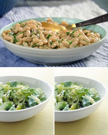 Mixed Green Salad with Citrus Dressing