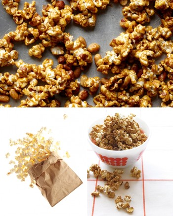 Popcorn Balls with Golden Raisins