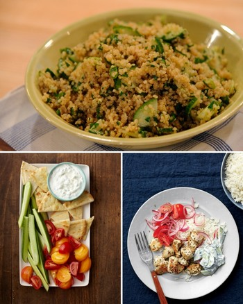 Quinoa and Cucumber Salad