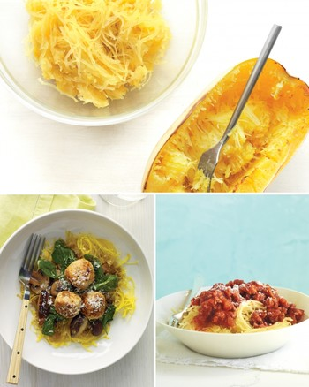 Spaghetti Squash with Sage and Orange