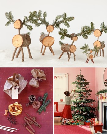 Four Stylists Create Unique Christmas Tree Designs