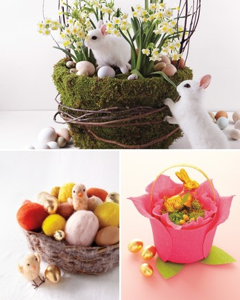 Decorative Easter Baskets and Boxes
