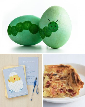 Eggs-in-Nest Centerpiece