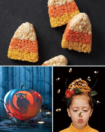 Homespun Pumpkin Decorations