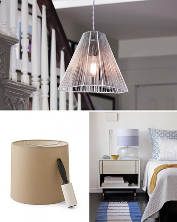 Tiered Vellum Lampshade