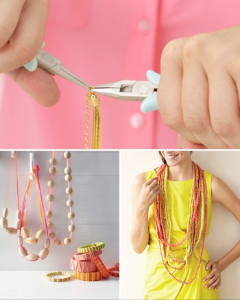 How to Make Your Own Faux-Pearl Necklace