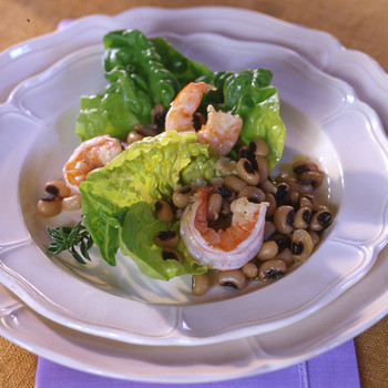 Black-Eyed-Pea and Shrimp Salad